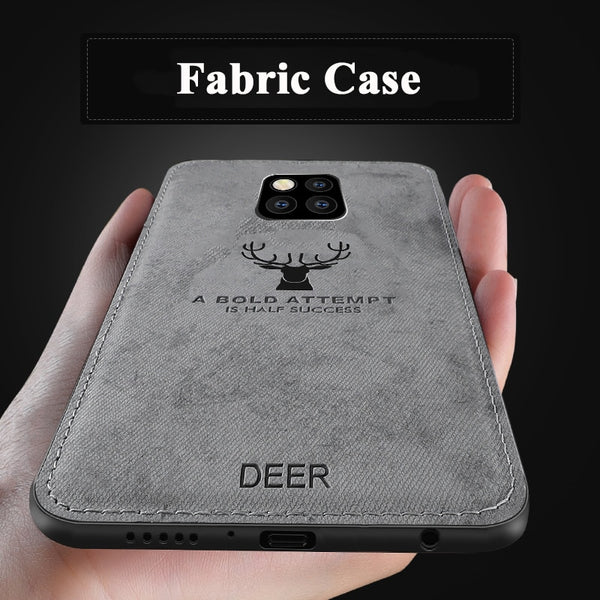 huge selection of e4579 5a5f0 Classic Fabric Case For Huawei Mate 20 / Mate 20 Pro