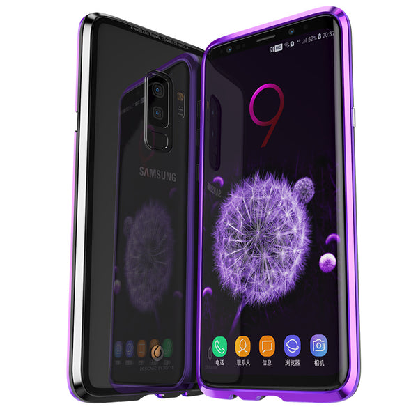 pretty nice 5a679 e78df Luxury Magnetic Case For Samsung Galaxy S9/S9 Plus