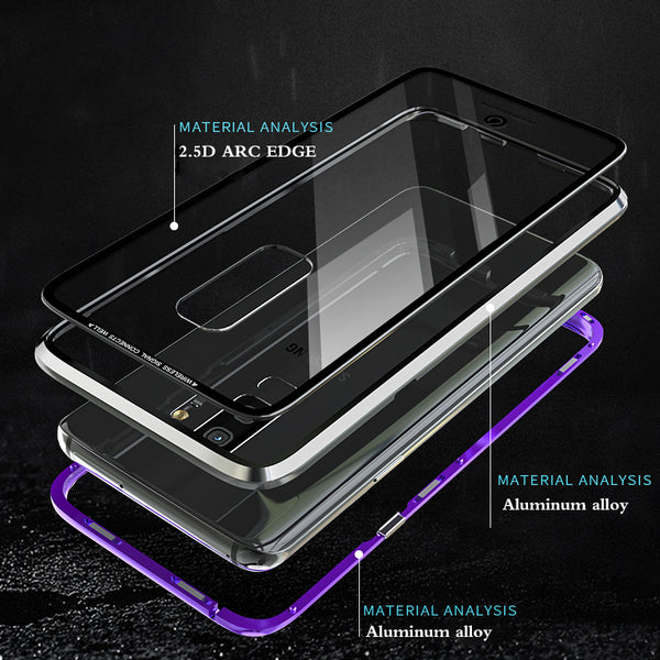 pretty nice 7b5e2 8802d Luxury Magnetic Case For Samsung Galaxy S9/S9 Plus