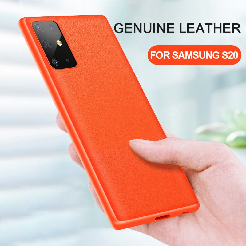 Original Genuine Leather Case For Samsung S20/ S20 Plus/ S20 Ultra