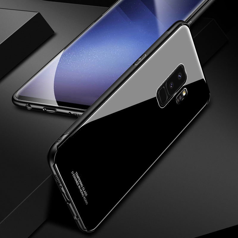 Tempered Glass Hard Back Cover