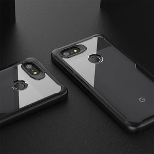 Luxury Silicone Transparent Case For Google Pixel 3 / 3XL