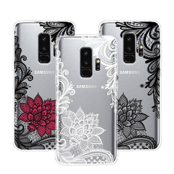 release date: b80f4 42e09 Flower Case For Samsung Galaxy S9 / S9 Plus