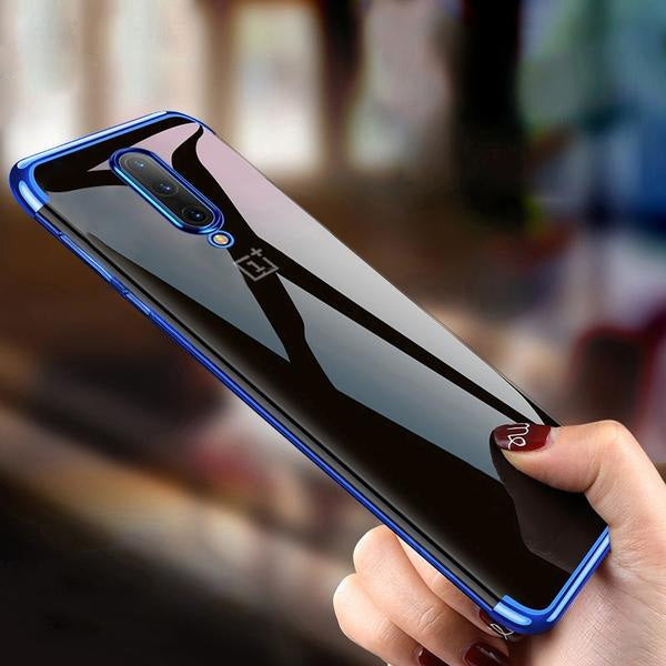 Transparent Plating Case For Oneplus 7 / 7 Pro / 6 /6T