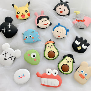 3D Socket Universal Phone Cartoon Air Bag