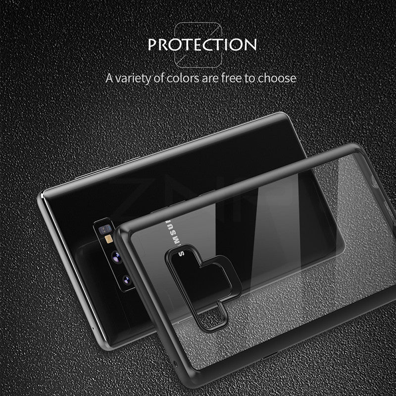 Full Protective Transparent Silicone Case For Samsung Galaxy Note 9