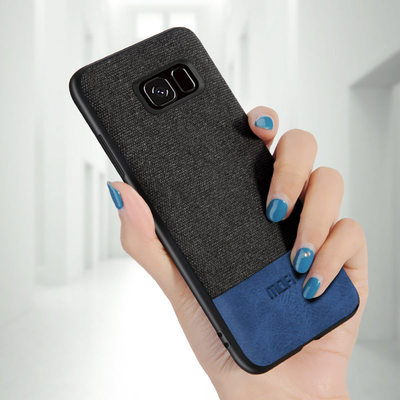 Luxury Fabric Case For Samsung Galaxy S7/S7 Edge
