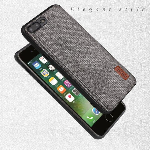 finest selection 3f85f c131b Luxury Fabric Case For iPhone 8/8 Plus