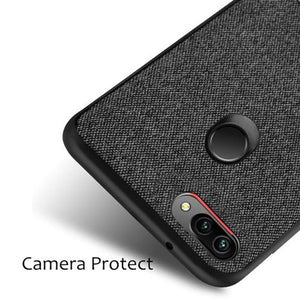 Luxury Fabric Case For For Huawei Honor 10