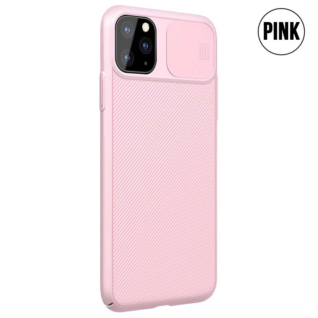Luxury Protection Case with Slide Camera Cover for iPhone 11 Series