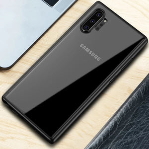 Transparent Slim Silicone Case for Samsung Galaxy Note 10/ Note 10 Plus