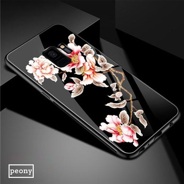 Luxury Tempered Glass 3D Case For Samsung Galaxy S9 Plus