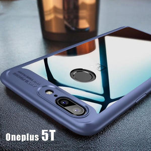 Full Protective Transparent Back Case For Oneplus 5T