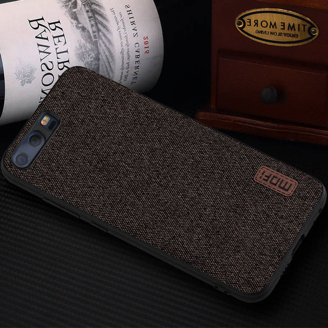 Luxury Fabric Case For Huawei P10 / P10 Plus