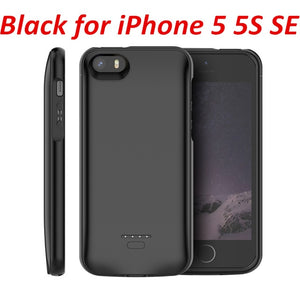 4000mAh Power Charger Phone Case for iPhone