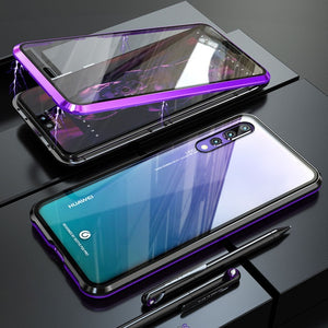 360 Full Body Protective Magnetic Case For Huawei P20/ P20 Pro/ P30/ P30 Pro/ Mate 20/ Mate 20 Pro