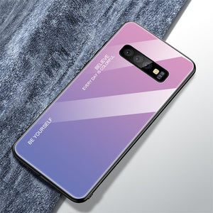 Gradient Tempered Glass Cases For Samsung S10/S10+/S10e