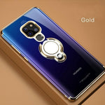 Magnet Car Holder Case For Huawei Mate 20 Series