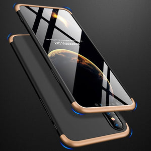 3 In 1 Full Protective Armor Case For iPhone X/ XS/ XS Max