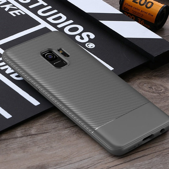 Luxury Carbon Fiber Case for Samsung Galaxy S9 / S9 Plus