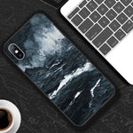 Abstract Art Painted Soft Case for iPhone