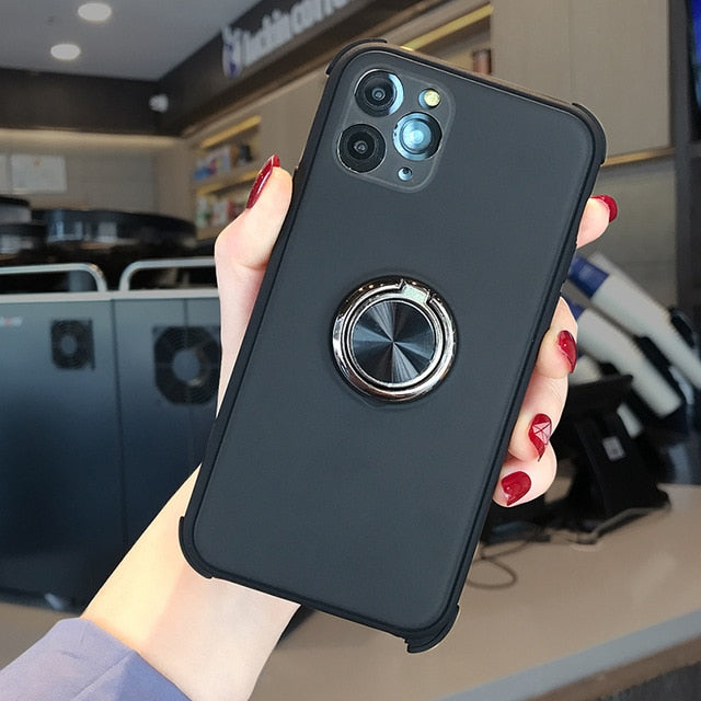 Magnetic Car Bracket Holder Case For iPhone 11 Series