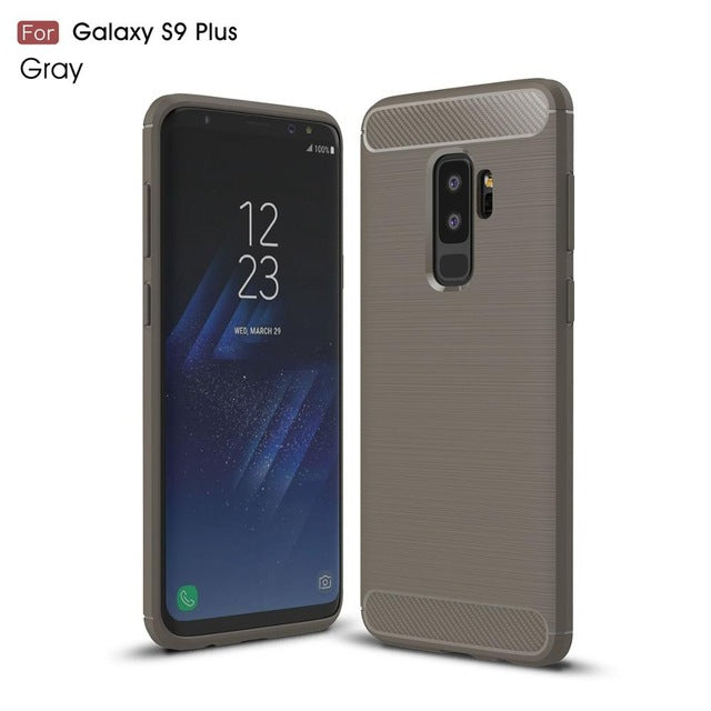 Luxury Carbon Fiber Protection Case For Samsung Galaxy S9/S9 Plus