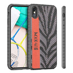 Sneakers Material Drop Protection Case for iPhone