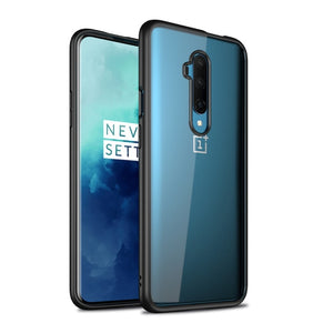 Transparent Plaing Resistant TPU Case For Oneplus 7T/ 7T Pro