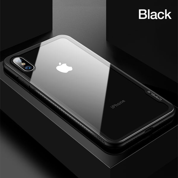 size 40 1aaa0 314fc Luxury Transparent Ultra Smooth Case for iPhone X