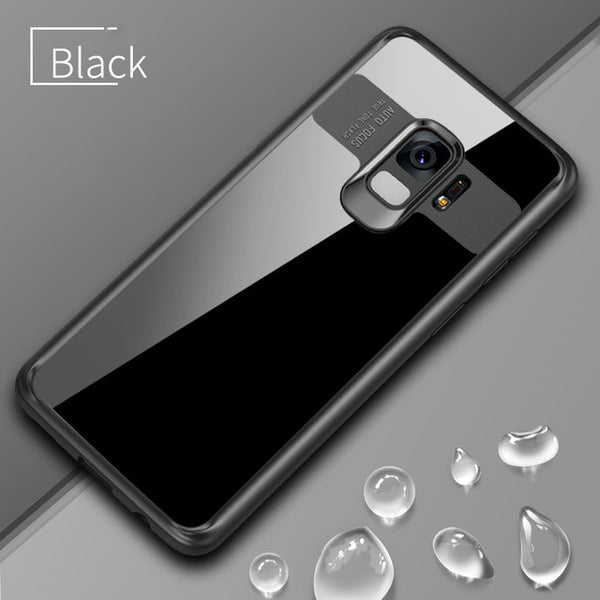 Full Protective Transparent Back Case For Samsung Galaxy S9 & S9 Plus
