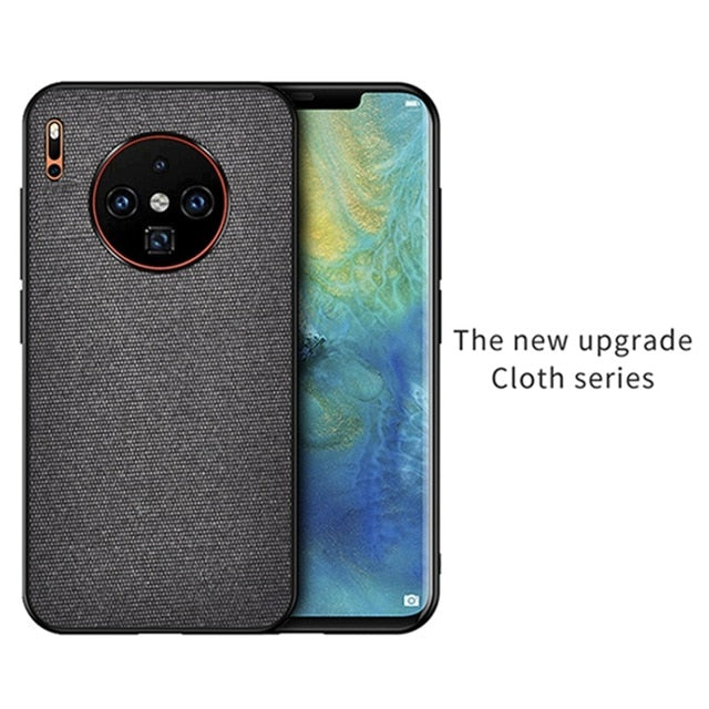 Fabric Cloth Case For Huawei Mate 30/ Mate 30 Pro/ Mate 30 Lite