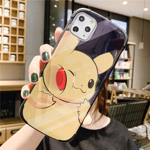 3D Cute Cartoon Stand Holder Cases For iPhone 11 Series