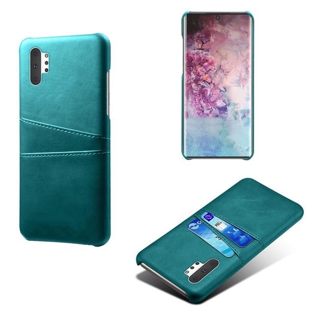 Leather Wallet Case For Samsung Galaxy Note 10/ Note 10 Plus