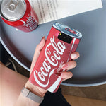 Cute Patterned Cola Back Case for Samsung Galaxy