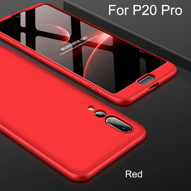 360 Full Protection 3-in-1 Case For Huawei P20/Pro/Lite