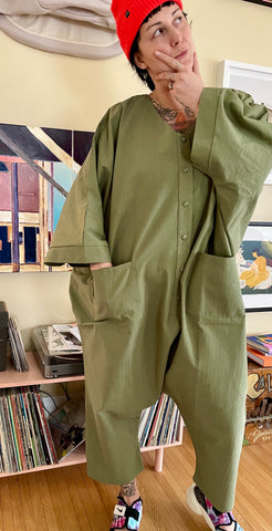 Sack Jumpsuit - Army