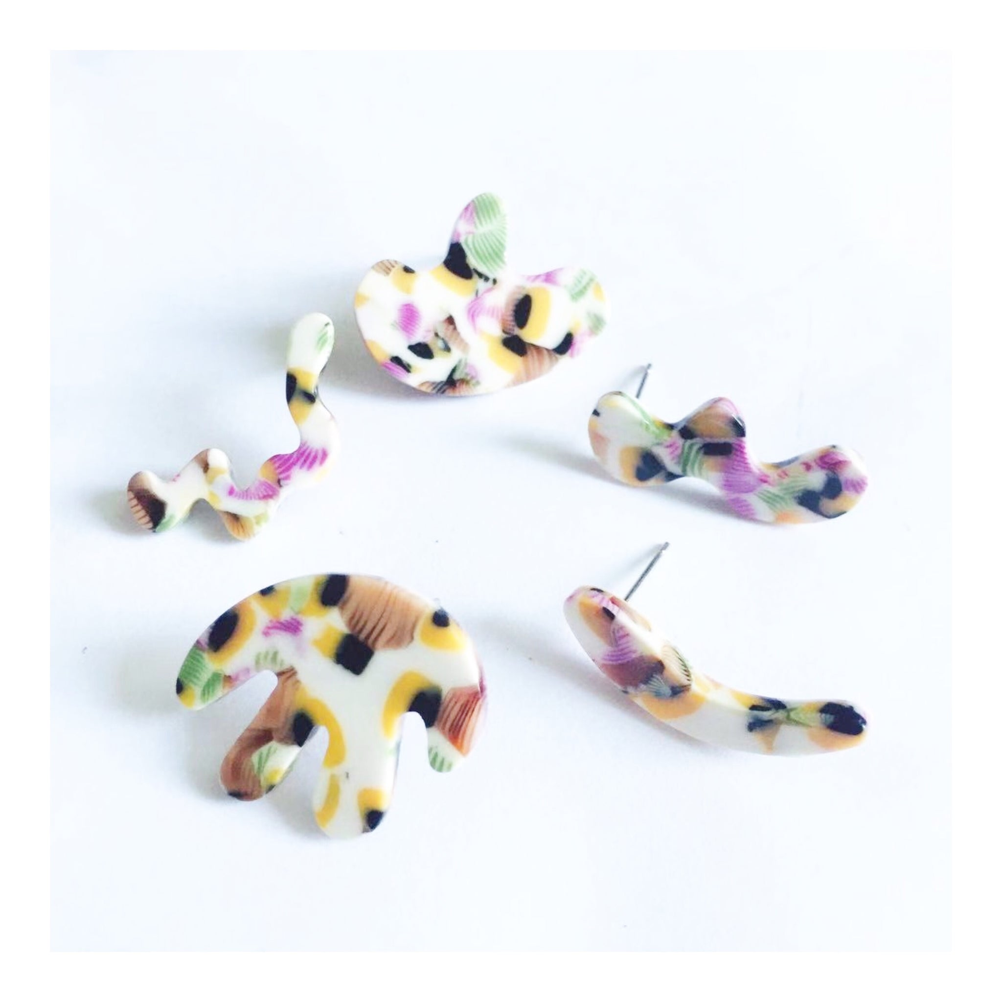 Little Squiggle Earring Pack