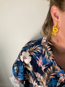 Twisted Snake Earrings