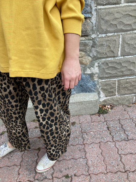 Jenny Pant - Light Leopard