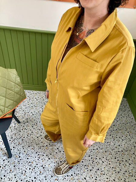 Baggy Boilersuit - Goldenrod