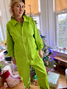 Baggy Boilersuit - Lime