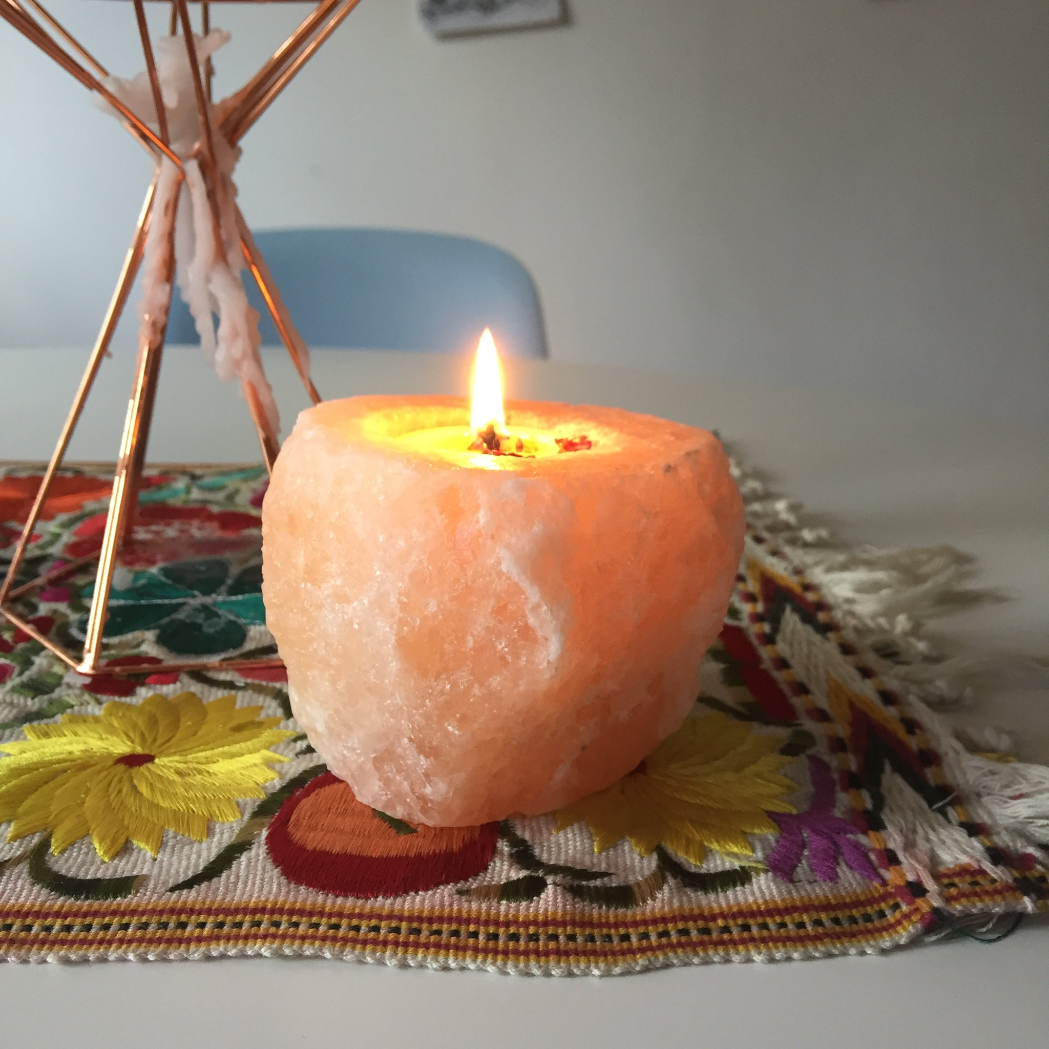 Salt Rock Candle