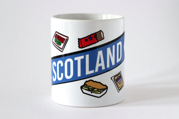 Scottish Junk Food Mug