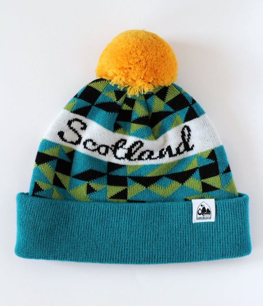 Scotland bobble hat
