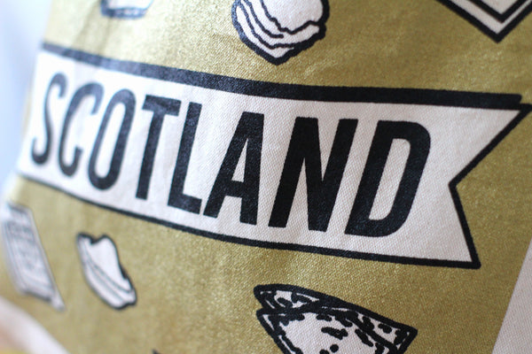 Scottish Junk Food Tote Bag