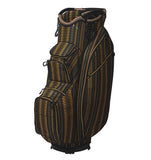 OUUL PYTHON SUPER LIGHT CART BAG BLACK BROWN