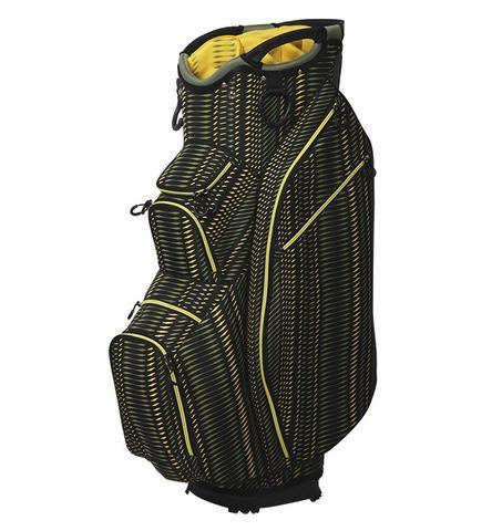 OUUL PYTHON SUPER LIGHT CART BAG BLACK YELLOW