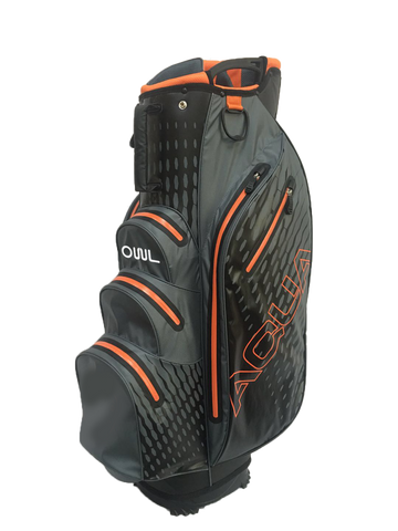 OUUL WATERPROOF CART BAG GRAY ORANGE
