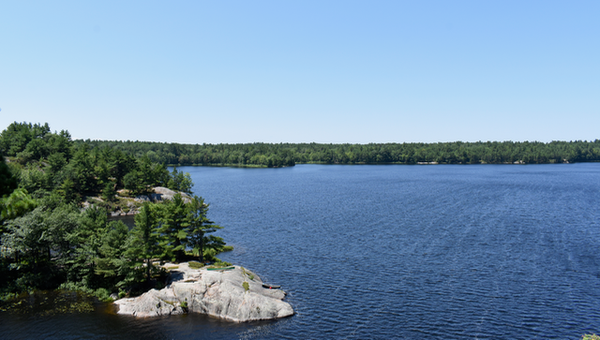 Lookout from Eagle's Nest at McCrae Lake